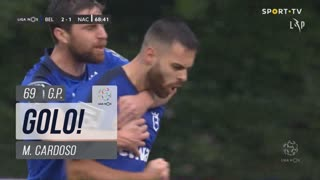 GOLO! Belenenses SAD, M. Cardoso aos 69', Belenenses SAD 2-1 CD Nacional