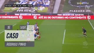 Marítimo M., Caso, Rodrigo Pinho aos 16'