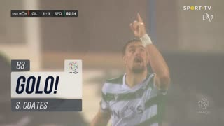 GOLO! Sporting CP, S. Coates aos 83', Gil Vicente FC 1-1 Sporting CP