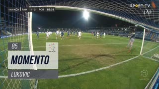 FC Famalicão, Jogada, Lukovic aos 85'