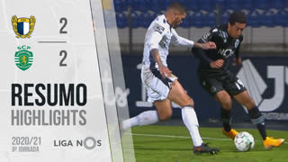 Liga NOS (9ªJ): Resumo FC Famalicão 2-2 Sporting CP