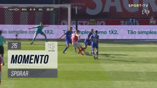 SC Braga, Jogada, Sporar aos 26'