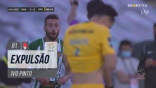 Rio Ave FC, Expulsão, Ivo Pinto aos 81'