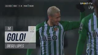 GOLO! Rio Ave FC, Diego Lopes aos 14', Rio Ave FC 1-0 Marítimo M.