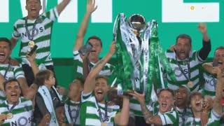 Sporting CP campeão 2020/21: Entrega do troféu!