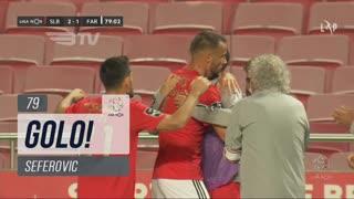 GOLO! SL Benfica, Seferovic aos 79', SL Benfica 2-1 SC Farense