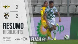 I Liga (15ªJ): Resumo Flash Moreirense FC 2-2 Portimonense