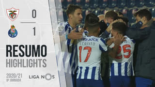 Liga NOS (8ªJ): Resumo Santa Clara 0-1 FC Porto