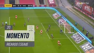 SC Braga, Jogada, Ricardo Esgaio aos 20'