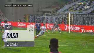 Boavista FC, Caso, G. Sauer aos 49'