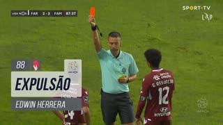 FC Famalicão, Expulsão, Edwin Herrera aos 88'