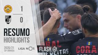 Liga NOS (29ªJ): Resumo Flash CD Nacional 1-0 Vitória SC