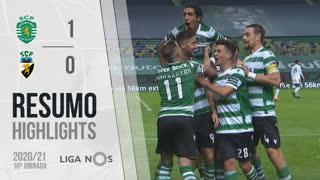 Liga NOS (10ªJ): Resumo Sporting CP 1-0 SC Farense