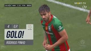 GOLO! Marítimo M., Rodrigo Pinho aos 51', Marítimo M. 1-0 Portimonense