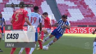 SL Benfica, Caso, Rafa aos 18'