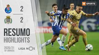 Liga NOS (19ªJ): Resumo FC Porto 2-2 Boavista FC