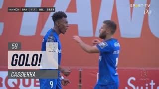 GOLO! Belenenses SAD, Cassierra aos 59', SC Braga 1-1 Belenenses SAD