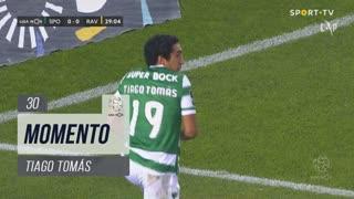 Sporting CP, Jogada, Tiago Tomás aos 30'