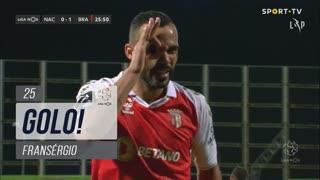 GOLO! SC Braga, Fransérgio aos 25', CD Nacional 0-1 SC Braga