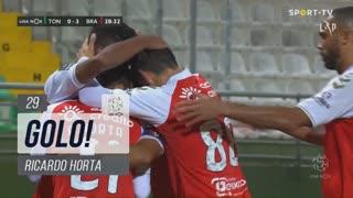GOLO! SC Braga, Ricardo Horta aos 29', CD Tondela 0-3 SC Braga