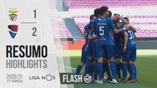 Liga NOS (27ªJ): Resumo Flash SL Benfica 1-2 Gil Vicente FC