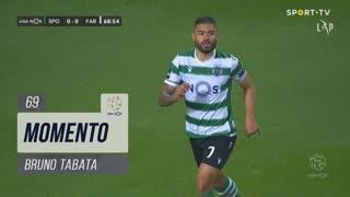 Sporting CP, Jogada, Bruno Tabata aos 69'