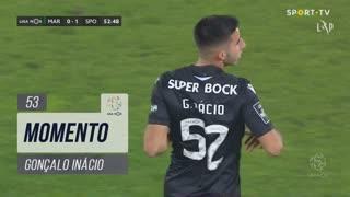 Sporting CP, Jogada, Gonçalo Inácio aos 53'