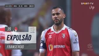 SC Braga, Expulsão, Fransérgio aos 39'