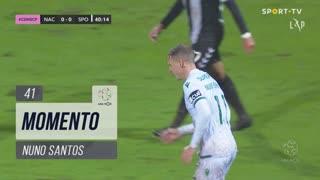 Sporting CP, Jogada, Nuno Santos aos 41'