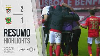 Liga NOS (9ªJ): Resumo SL Benfica 2-1 FC P.Ferreira
