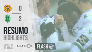 I Liga (13ªJ): Resumo Flash CD Nacional 0-2 Sporting CP