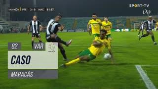 FC P.Ferreira, Caso, Maracás aos 82'
