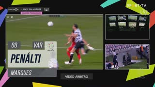 Gil Vicente FC, Penálti, Marques aos 68'
