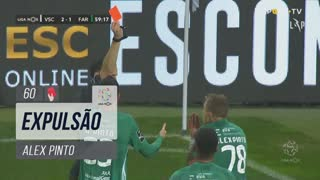 SC Farense, Expulsão, Alex Pinto aos 60'