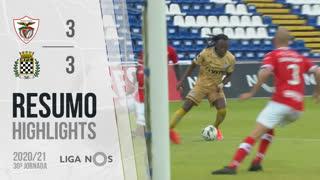 I Liga (30ªJ): Resumo Santa Clara 3-3 Boavista FC