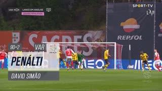 Moreirense FC, Penálti, David Simão aos 90'+2'