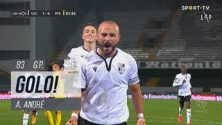 GOLO! Vitória SC, A. André aos 83', Vitória SC 1-0 FC P.Ferreira
