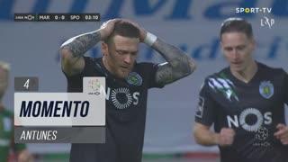 Sporting CP, Jogada, Antunes aos 4'