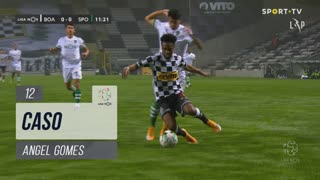 Boavista FC, Caso, Angel Gomes aos 12'