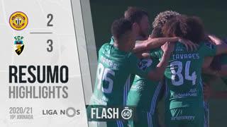 Liga NOS (19ªJ): Resumo Flash CD Nacional 2-3 SC Farense
