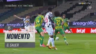 Boavista FC, Jogada, G. Sauer aos 15'