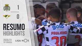 Liga NOS (20ªJ): Resumo Boavista FC 1-0 Moreirense FC