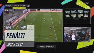 FC P.Ferreira, Penálti, Lucas Silva aos 90