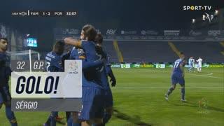 GOLO! FC Porto, Sérgio aos 32', FC Famalicão 1-2 FC Porto