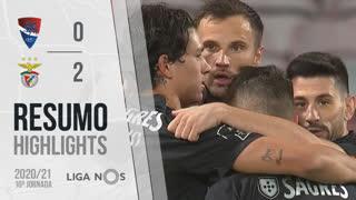 Liga NOS (10ªJ): Resumo Gil Vicente FC 0-2 SL Benfica