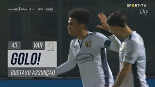 GOLO! FC Famalicão, Gustavo Assunção aos 43', FC Famalicão 1-1 Sporting CP