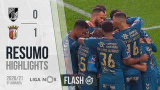 Liga NOS (5ªJ): Resumo Flash Vitória SC 0-1 SC Braga