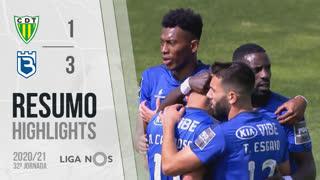 Liga NOS (32ªJ): Resumo CD Tondela 1-3 Belenenses SAD