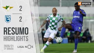 Liga NOS (21ªJ): Resumo Moreirense FC 2-2 Belenenses SAD