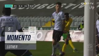 FC P.Ferreira, Jogada, Luther aos 9'